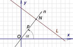 Общее уравнение прямой на плоскости калькулятор